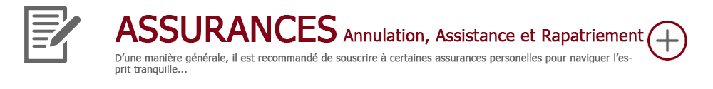 Assurances annulation, assistance et rapatriemen