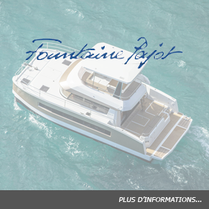 Flotte Fountaine Pajot power catamaran